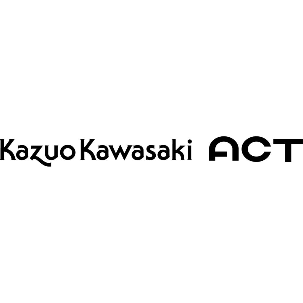 Kazuo Kawasaki ACTロゴ